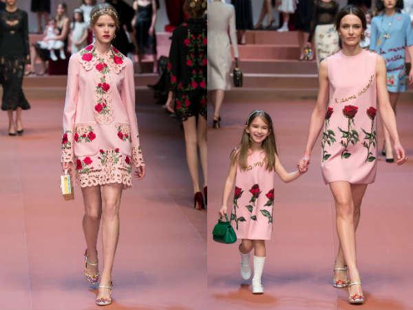 cu imprimeu floral Dolce&Gabbana
