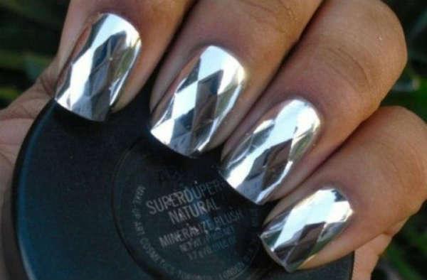 metalic argintii