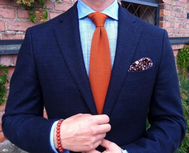 Cravate barbati clasica