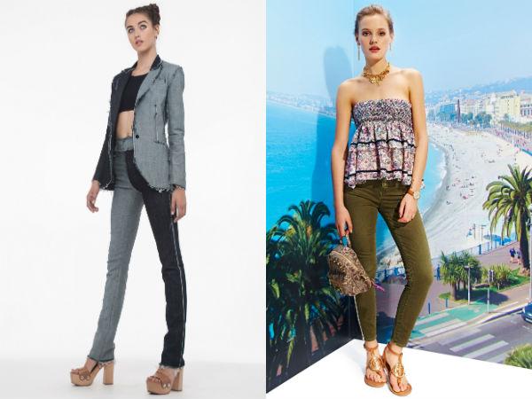 Blugi skinny la moda 2016 primavara vara