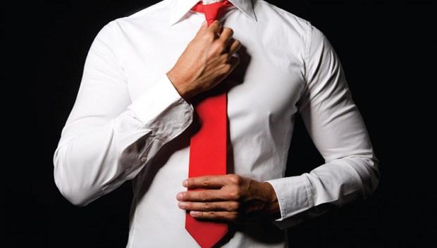 Imagini cravate rosie pentru barbati