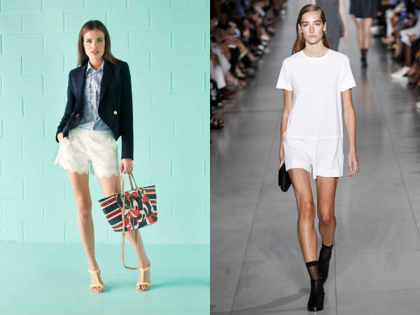 Pantaloni scurti primavara 2016