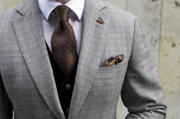 Cravate maro pentru barbati