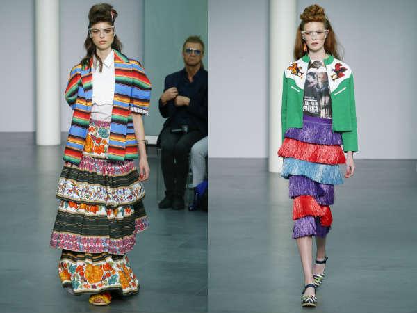 Stella Jean la saptamana modei la Milano