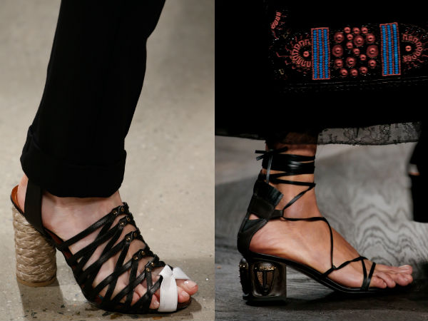 Sandale dama cu toc 2016