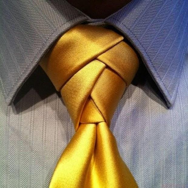 Cravate pentru barbati Windsor aurie