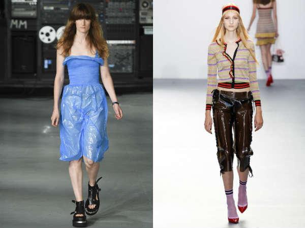 Pantaloni scurti transparenti la moda 2016