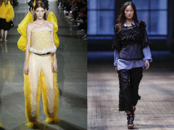 Pantaloni la moda 2016 primavara vara: decor