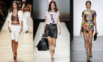 Pantaloni scurti dama la moda 2016