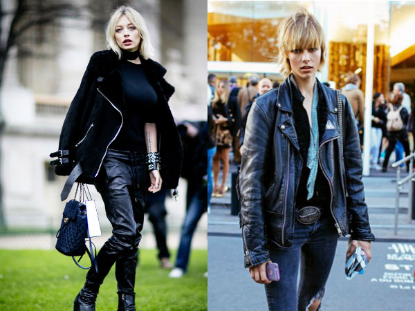 Moda strazii primavara vara 2016: stil rock
