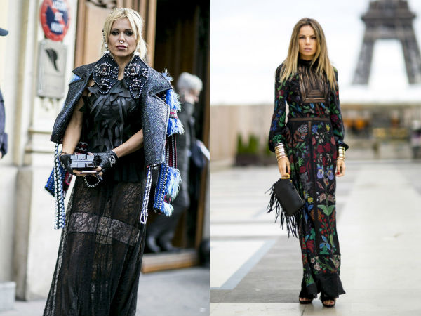 Moda strazii primavara vara 2016: decor