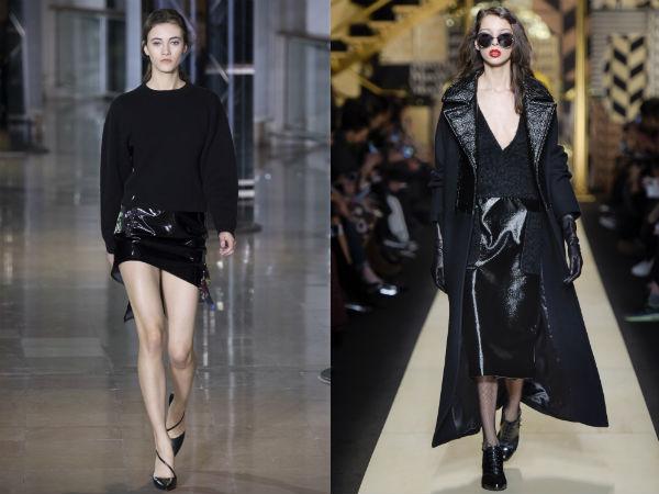 piele negre lungime la moda 2016 2017