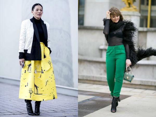 Moda strazii primavara vara 2016: culori