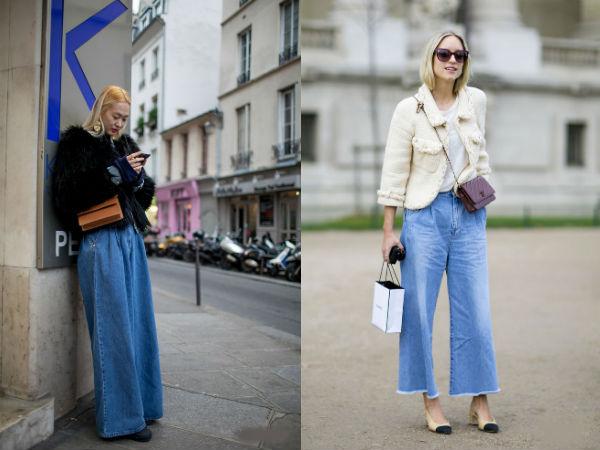 Moda strazii primavara vara 2016: denim