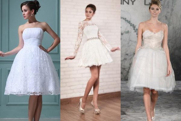 Cum alegem o rochie scurta de mireasa