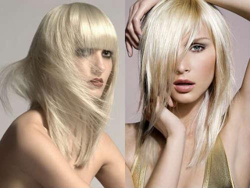 Tunsoare in scari blond
