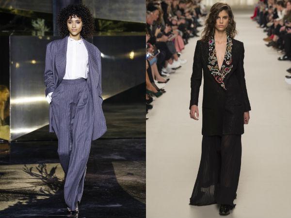 Sacouri lungi la moda toamna 2016