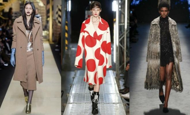 Paltoane la moda toamna-iarna 2016-2017