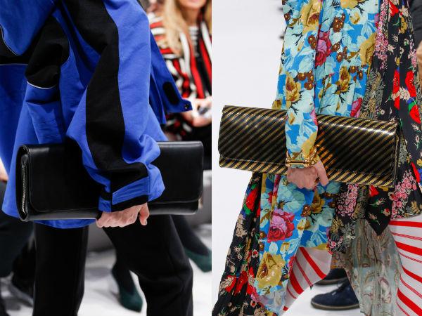 Genti dreptunghiulare la moda