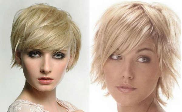 Modele coafuri par subtire blond