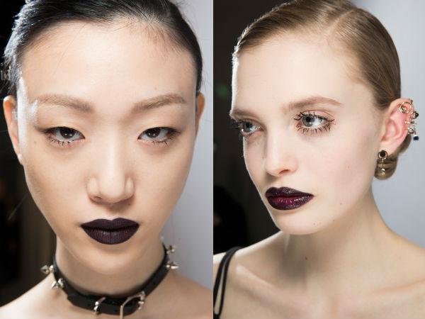 Machiaj 2016 2017 stil gotic