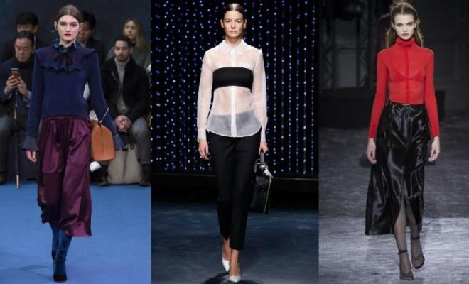 Bluze la moda toamna-iarna 2016-2017