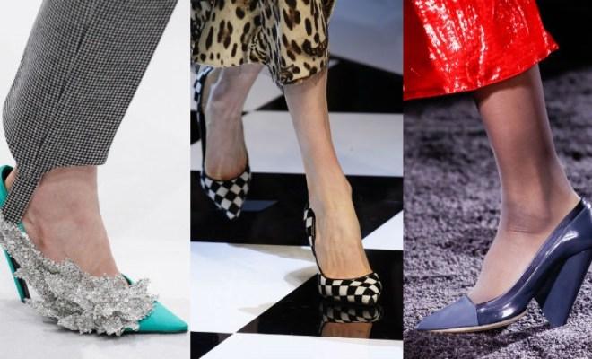 Pantofi la moda toamna-iarna 2016-2017