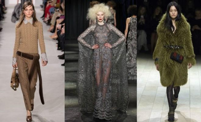 Principalele tendinte moda toamna-iarna 2016-2017