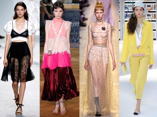 Moda de la Paris primavara vara 2017