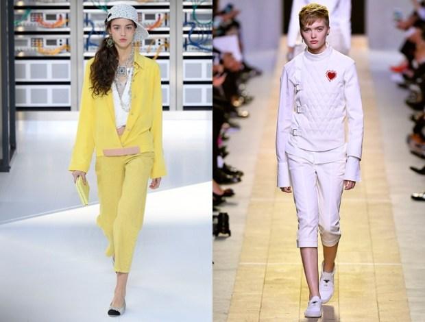 Sport chic la saptamana modei de la Paris