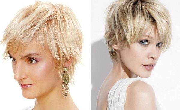 Tunsori filate blonde