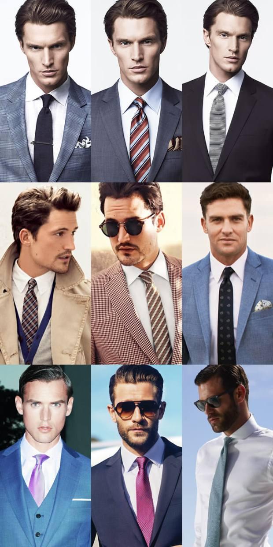 Camasa alba ce cravata merge
