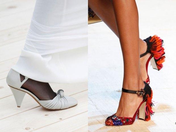 Pantofi cu cureluse stilati