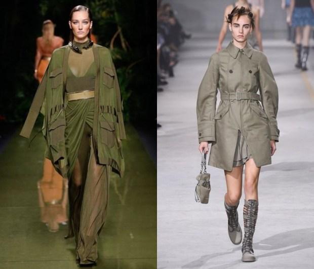 Paltoane 2017 stil military