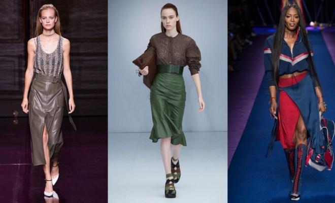 Fuste la moda primavara-vara 2017