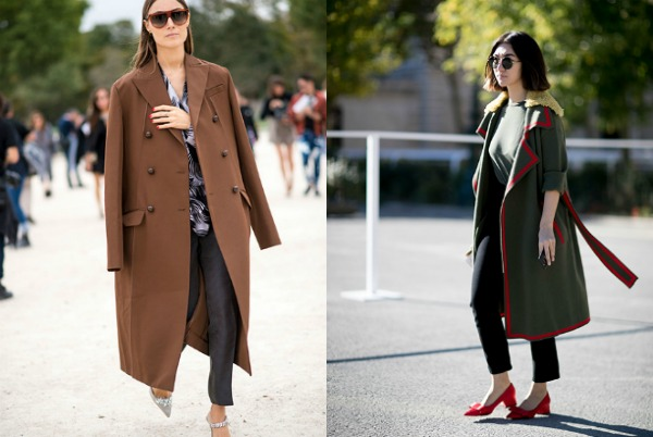 Paltoane moda strazii 2017