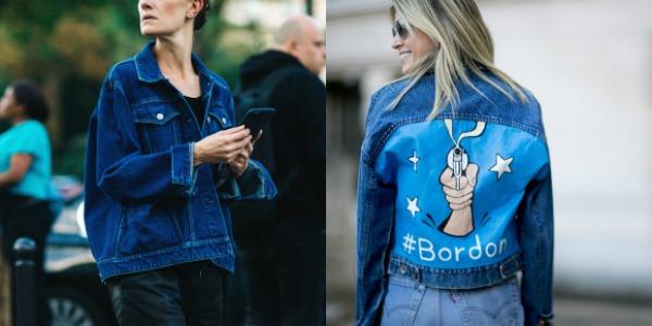 Moda strazii primavara vara 2017 geci jeans