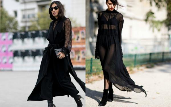 Moda strazii primavara vara 2017: stofe transparente