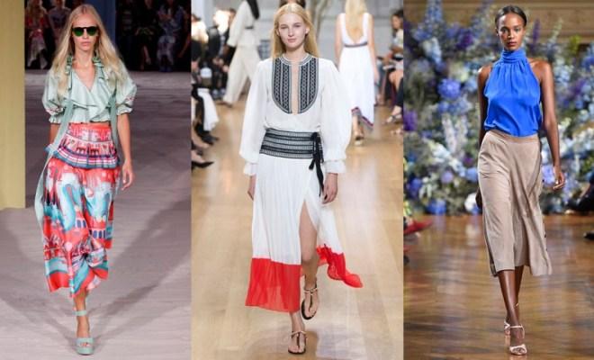 Bluze la moda primavara-vara 2017