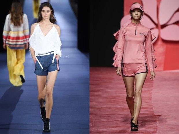 Pantaloni scurti primavara vara 2017 stil sport