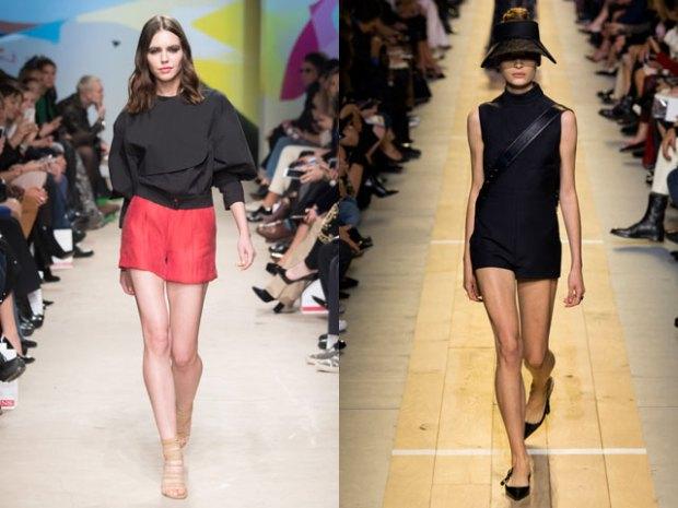 Pantaloni scurti primavara vara 2017 stil office