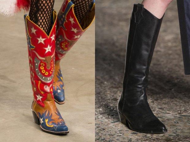 Cizme la moda 2018
