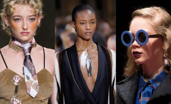 Accesorii la moda toamna-iarna 2017-2018