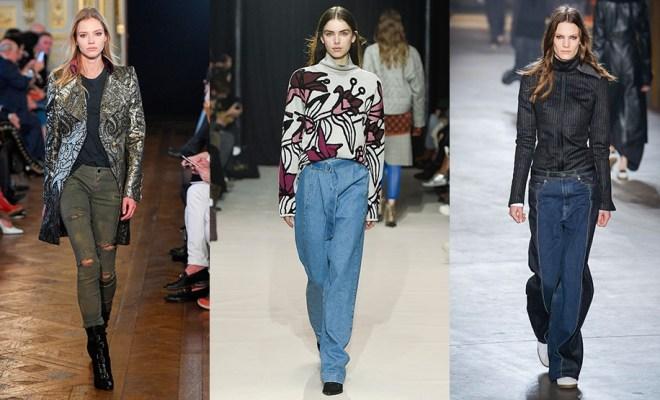 Blugi la moda toamna-iarna 2017-2018