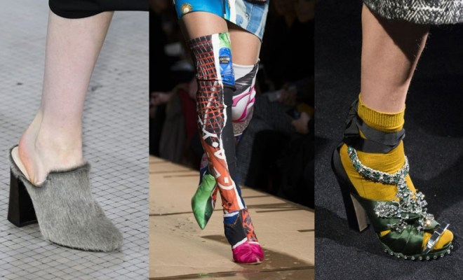 Incaltaminte la moda toamna-iarna 2017-2018