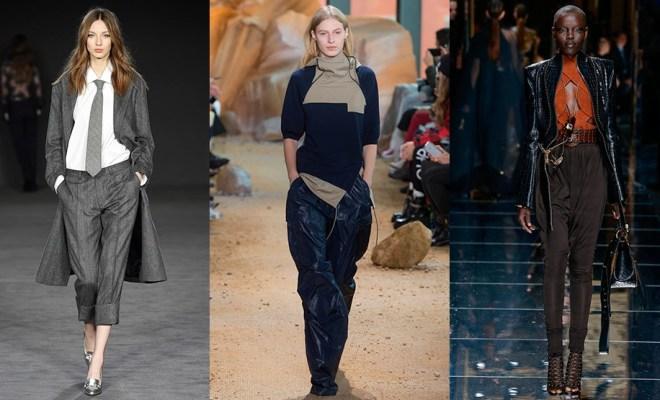 Pantaloni la moda toamna-iarna 2017-2018