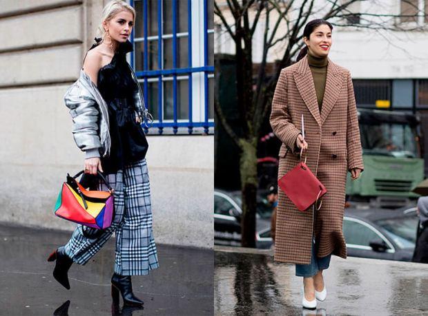 Moda strazii toamna iarna 2017 2018: carouri