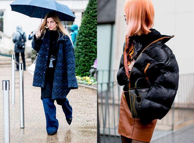 Moda strazii toamna iarna 2017 2018: oversize