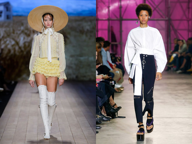 Bluze albe primavara vara 2018