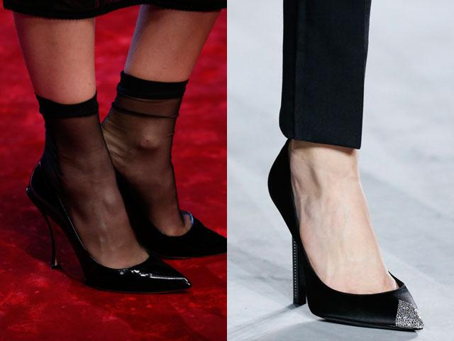 Pantofi stiletto la moda in 2018